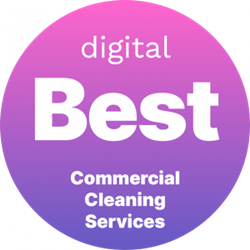 Named Best Commercial Cleaning Service by Digital.com